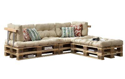 cojines para sofá de palets