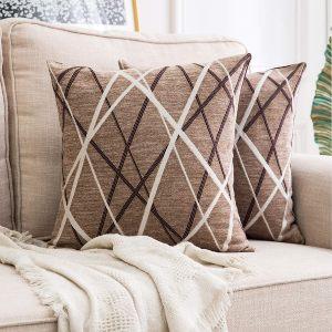 MIULEE Fundas de cojín para sofá