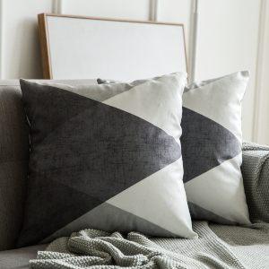MIULEE Fundas de cojín para sofa
