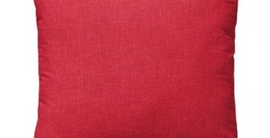 cojines rojos